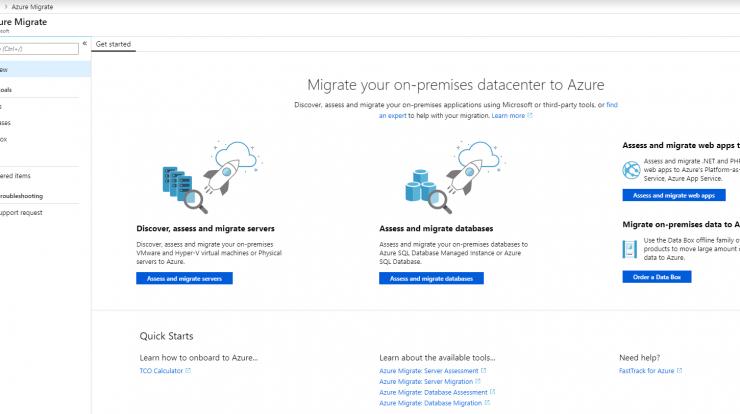 Azure Migrate – Architecting the future